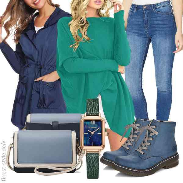 Top herren-Outfit im Finest-Trend-Style für ein selbstbewusstes Modegefühl mit tollen Produkten von N\C,Odosalii,ONLY,STARKING,Rieker