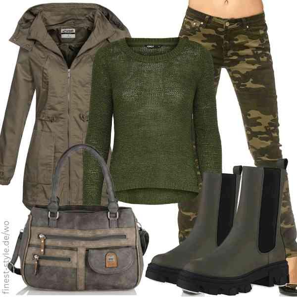 Top herren-Outfit im Finest-Trend-Style für ein selbstbewusstes Modegefühl mit tollen Produkten von Hailys,ONLY,Elara,irisaa,VAN HILL