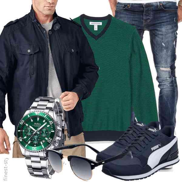 Top herren-Outfit im Finest-Trend-Style für ein selbstbewusstes Modegefühl mit tollen Produkten von KEFITEVD,Amazon Essentials,Amaci&Sons,BIDEN,CGID,PUMA